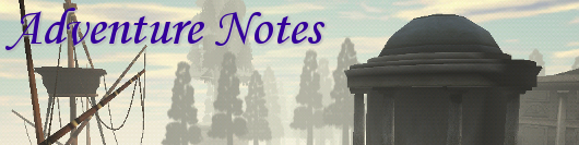 Adventure Notes - Myst